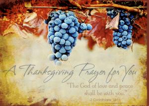ThanksgivingPrayer