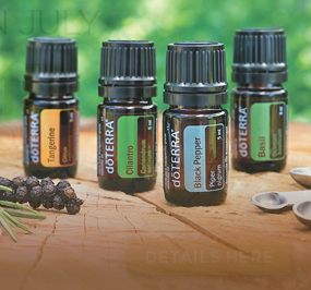 doTERRA essential oils for healthy living
