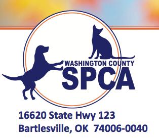 Washington County SPCA Logo