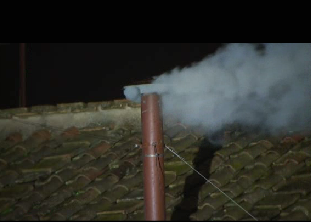white smoke from vatican