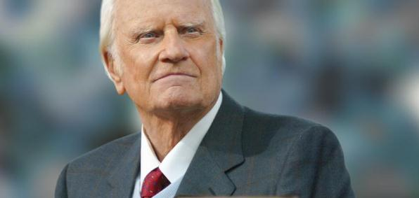Evangelist - Billy Graham via WND article 2013