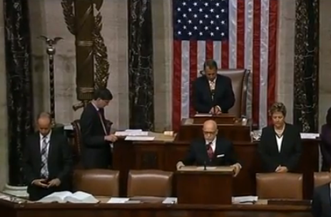 Rod MacIlvane praying from house floor 2013