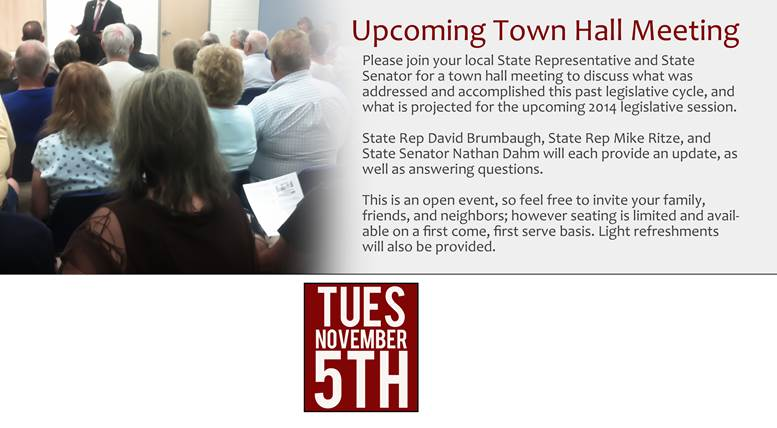 Town Hall Meeting Broken Arrow Nov5