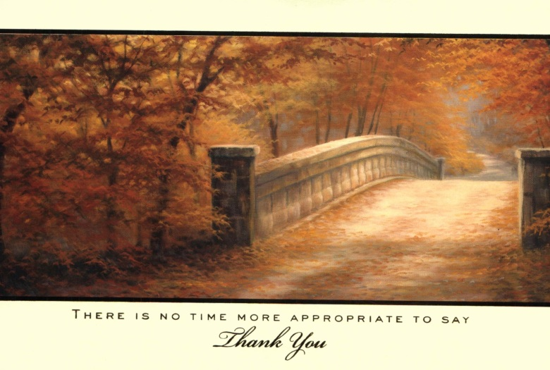 Thanksgiving Card 2013 cover