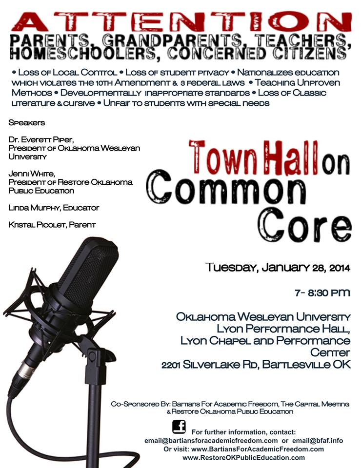 Town Hall on Common Core