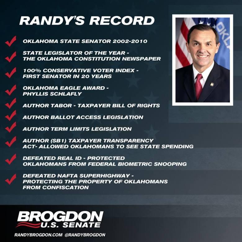 Brogdon - Randys Record