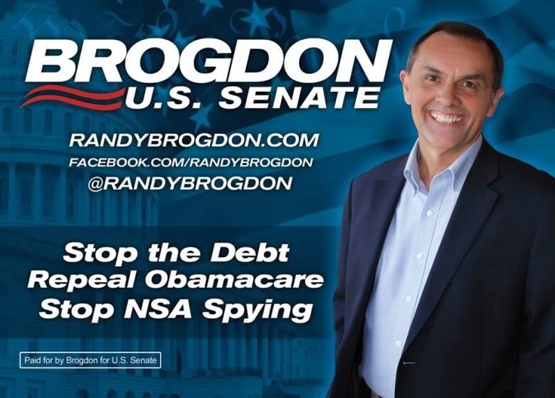 Brogdon - Stop the Debt Repeal Obamacare Stop NSA Spying