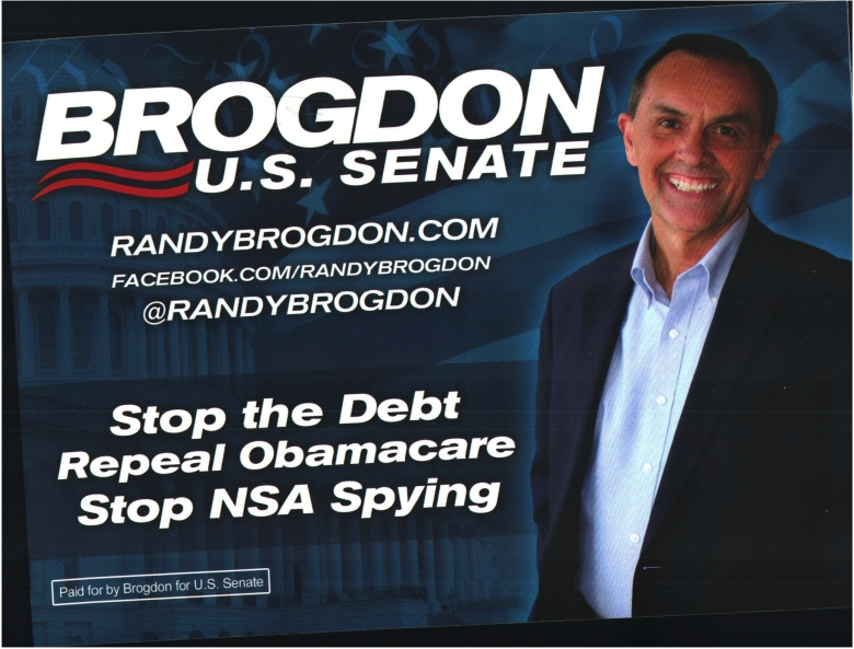 Document-Randy Brogdon for US Senate - 3 key issues Mon Jun 09 2014 Randy Brogdon