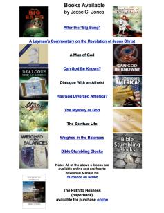 Jesse Jones Books Available Master 2015