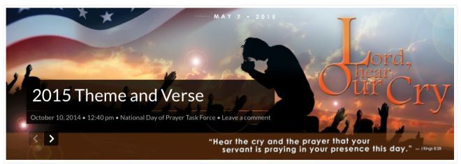 National Day of Prayer 2015