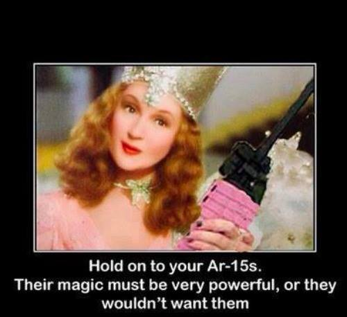 Hold on to your AR15s