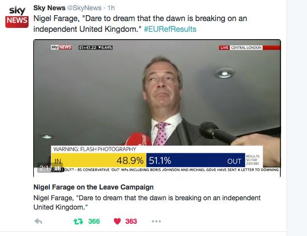 Nigel Farage quote