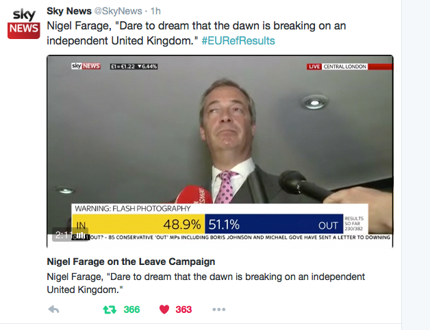 Nigel Farage quote