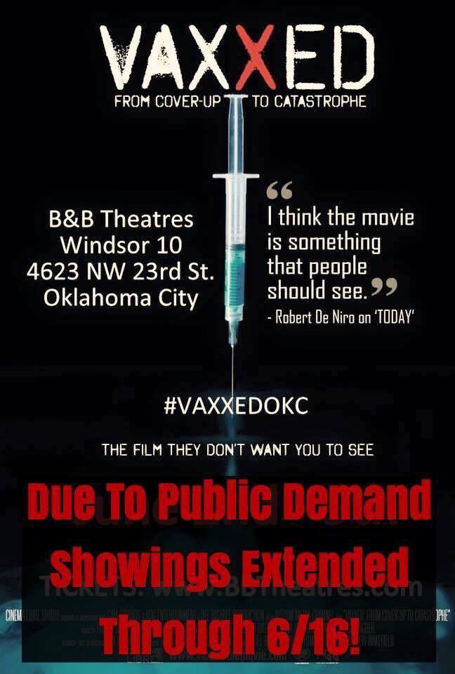OKC extended VAXXED