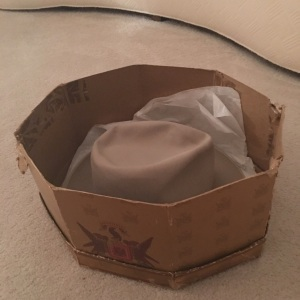 Ten Gallon Hat in original box