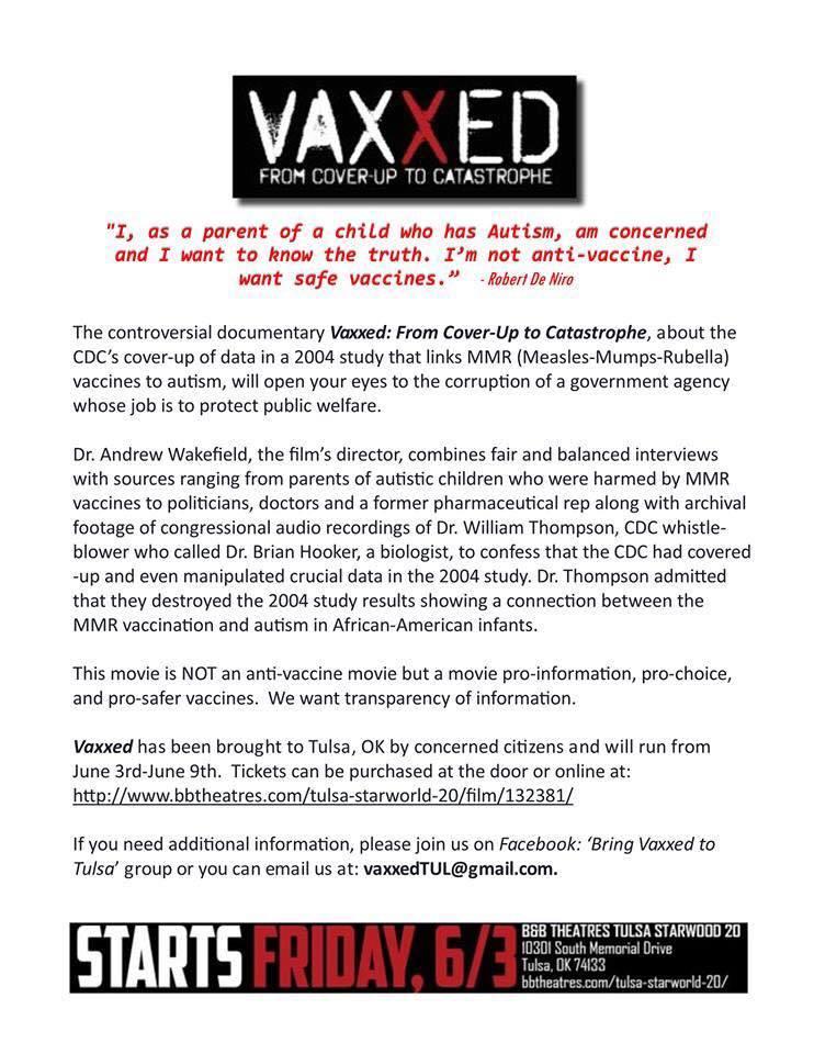 Vaxxed info via ESB